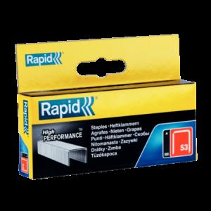Zszywki 53/10mm galwanizowane High Performance Rapid 11858825