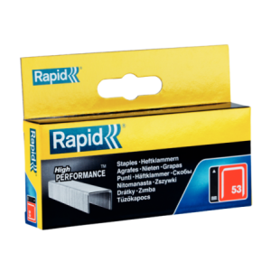 Zszywki High Performance TYP53 2500 szt. 11,4 / 10 mm RAPID 11858825