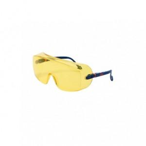 Okulary ochronne nakładane na okulary korekcyjne żółte 3M 2802
