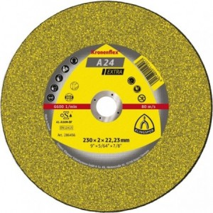 Tarcza 150x2.5x22 metal Klingspor A 24 EX 235375 25 szt