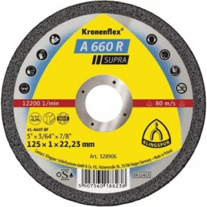 Tarcza 115x1x22 metal/inox Klingspor A 660 R 328905 25 szt