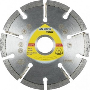 Tarcza diamentowa 125 spoiny z zaprawy Klingspor DN 600 U 330662