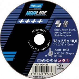 Tarcza 300x3x20 beton Norton Norline 66252829900 10 szt