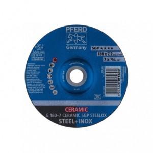 Tarcza 180x7.2x22 metal/inox Pferd CERAMIC SGP STEELOX 62217300 10 szt