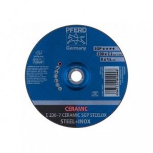 Tarcza 230x7.2x22 metal/inox Pferd CERAMIC SGP STEELOX 62218300 10 szt