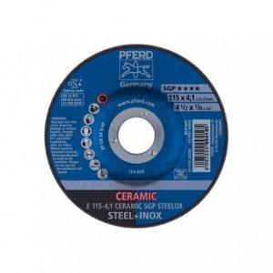 Tarcza 115x4x22 metal/inox Pferd CERAMIC SGP STEELOX 62100115 10 szt