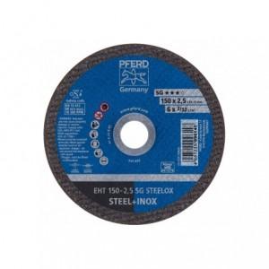 Tarcza 150x2.5x22 metal/inox Pferd SG STEELOX 61100150 25 szt