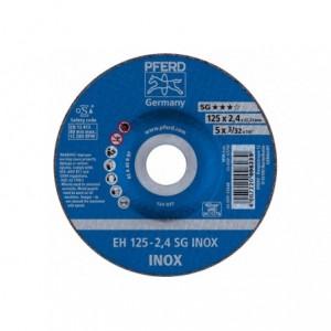 Tarcza 125x2.4x22 inox Pferd SG INOX 61341223 25 szt
