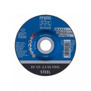 Tarcza 125x2.4x22 metal Pferd SG STEEL 61320222 25 szt
