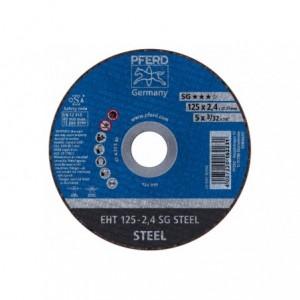 Tarcza 125x2.4x22 metal Pferd SG STEEL 61321222 25 szt