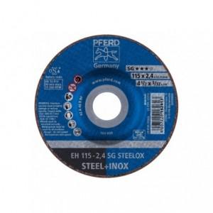 Tarcza 115x2.4x22 metal/inox Pferd SG STEELOX 61340123 25 szt