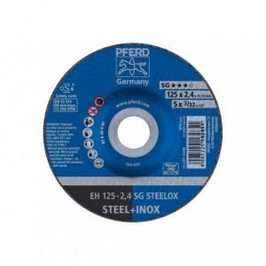 Tarcza 125x2.4x22 metal/inox Pferd SG STEELOX 61341222 25 szt