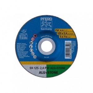Tarcza 125x2.4x22 aluminium Pferd PSF ALU+STONE 61820222 25 szt