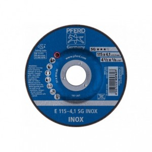 Tarcza 115x4x22 inox Pferd SG INOX 62211423 10 szt