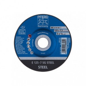 Tarcza 125x7.2x22 metal Pferd SG STEEL 62212626 10 szt
