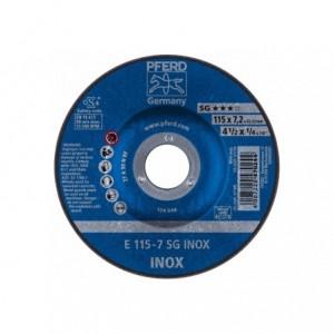 Tarcza 115x7.2x22 inox Pferd SG INOX 62211623 10 szt
