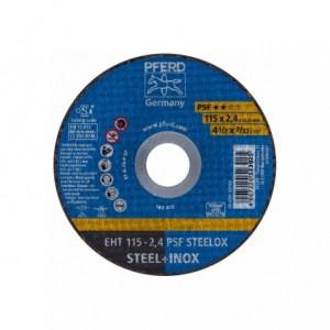 Tarcza 115x2.4x22 metal/inox Pferd PSF STEELOX 61730122 25 szt