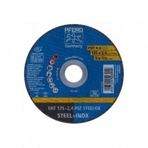 Tarcza 125x2.4x22 metal/inox Pferd PSF STEELOX 61721122 25 szt