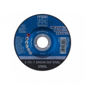 Tarcza 115x7.2x22 metal Pferd ZIRKON SGP STEEL 62211737 10 szt