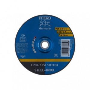 Tarcza 230x7.2x22 metal/inox Pferd PSF STEELOX 62023640 10 szt