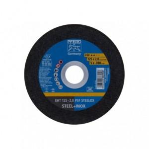 Tarcza 125x2x22 metal/inox Pferd PSF STEELOX 69120850 25 szt