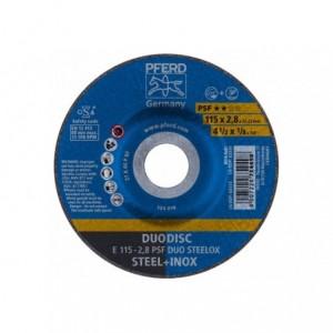 Tarcza 115x2.8x22 metal/inox Pferd PSF DUO STEELOX 62011620 10 szt