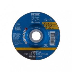 Tarcza 125x2.8x22 metal/inox Pferd PSF DUO STEELOX 62012620 10 szt