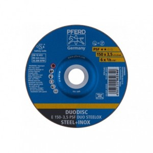 Tarcza 150x3.5x22 metal/inox Pferd PSF DUO STEELOX 62015420 10 szt