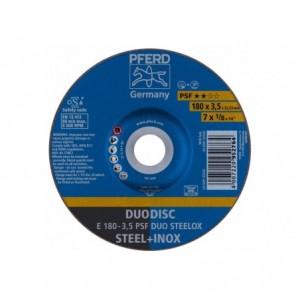 Tarcza 180x3.5x22 metal/inox Pferd PSF DUO STEELOX 62017420 10 szt