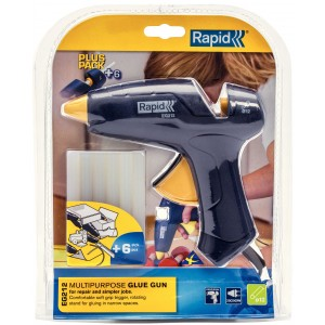 Pistolet do kleju EG212 + 6 sztyftów kleju Rapid 5000571