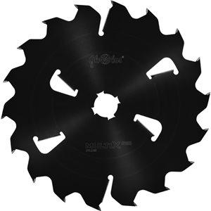 Piła HM MULTIX PRO Plus 0630x70x6,0/3,8/18+6z GM 4(20x6) do cięcia drewna świeżego na wielopiłach z dużym posuwem GLOBUS