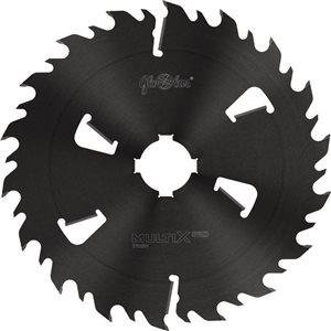 Piła HM MULTIX PRO Twin 0630x70x6,2/4,1/18+6z 2GS 4(20x6) do cięcia drewna świeżego na wielopiłach i trakach tarczowych GLOBUS