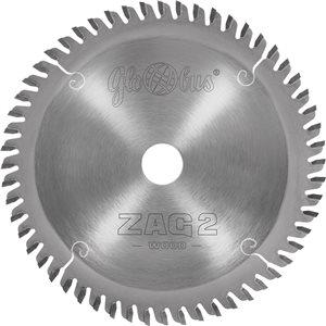 Piła HM ZAG 2 -WOOD- 0160x20x2,2/1,6/56z GS do zagłębiarek GLOBUS
