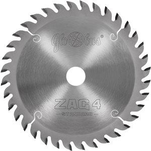 Piła HM ZAG 4 -STANDARD- 0160x30x2,2/1,6/36z GS do zagłębiarek GLOBUS