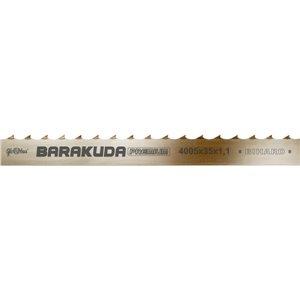 Piła taśmowa BARAKUDA Premium /HOR/ 4005x40x1,1/22 do cięcia drewna świeżego na trakach taśmowych GLOBUS