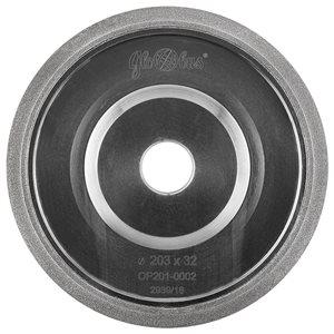 Ściernica borazonowa 150x20xProfil zęba: 10/30 T22 do ostrzenia pił taśmowych GLOBUS