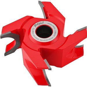 Frez HM nasadzany ćwierćokrągły wklęsły 0160x30x60/4z R25 GLOBUS