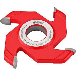 Frez HM nasadzany półokrągły wklęsły 0125x30x24/4z R12 GLOBUS