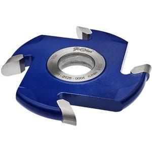 Frez HSS nasadzany półokrągły wklęsły 0125x30x30/4z R15 GLOBUS