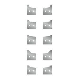 Zestaw noży kształtowych 28x45st - do głowicy LJ180 GLOBUS