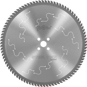Piła HM STEEL-TECH 0355x25,4x2,2/1,8/90z 2GC10 do cięcia kształtowników stalowych na ukośnicach GLOBUS