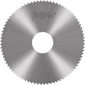 Frez HSS wg. DIN A i Aw 0080,0x22,0x2,00/80z d136,00 do cięcia stali i metali kolorowych GLOBUS