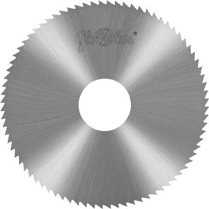 Frez HSS wg. DIN A i Aw 0100,0x22,0x4,00/100z d140,00 do cięcia stali i metali kolorowych GLOBUS