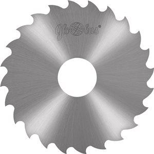 Frez HSS wg. DIN B i Bw 0100,0x22,0x3,00/40z d140,00 do cięcia stali i metali kolorowych GLOBUS