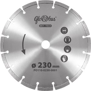 Piła/ściernica BET-TECH 0125x22,23 do pilarek szybkoobrotowych (m.in. kątówek) GLOBUS