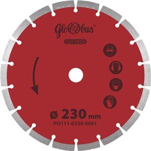 Piła/ściernica CUT-TECH 0230x22,23 do pilarek szybkoobrotowych (m.in. kątówek) GLOBUS