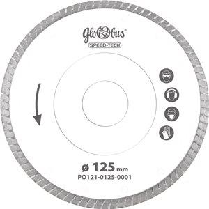 Piła/ściernica SPEED-TECH 0125x22,23 do pilarek szybkoobrotowych (m.in. kątówek) GLOBUS