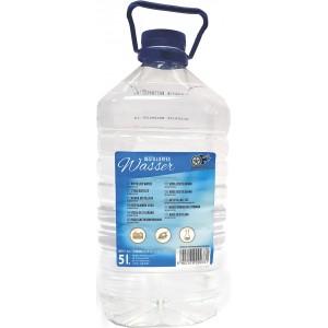 Woda demineralizowana 5l destylowana