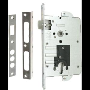 Zamek do drzwi 90/50 wpuszczany na wkładkę bębenkową Gerda ZW 3000