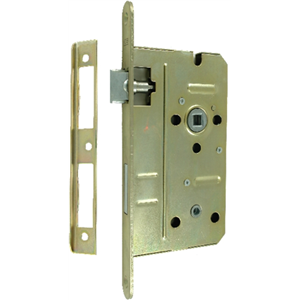 Zamek do drzwi 72/55 wpuszczany łazienkowy Lob Z755C